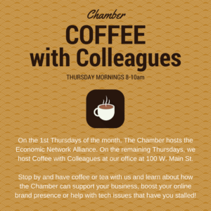 Chamber Coffee with Colleagues