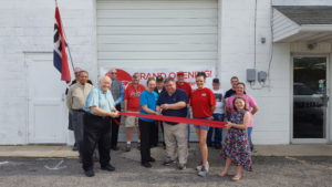 Engine House Pizza Ribbon Cutting