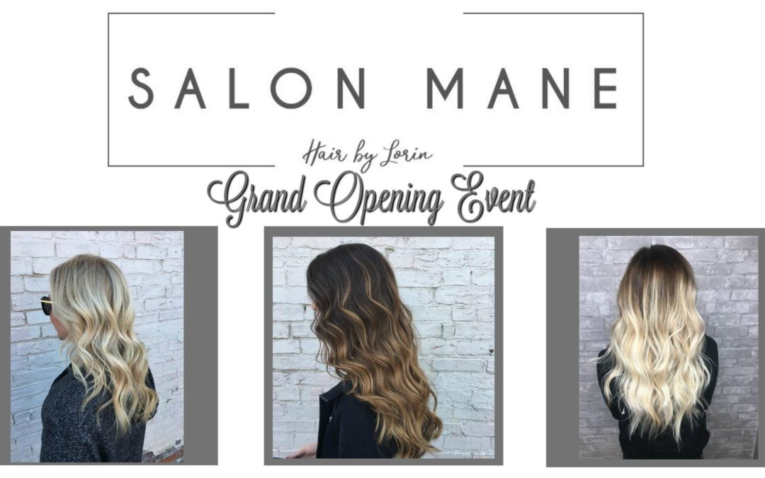 Open House & Ribbon Cutting for Salon Mane!