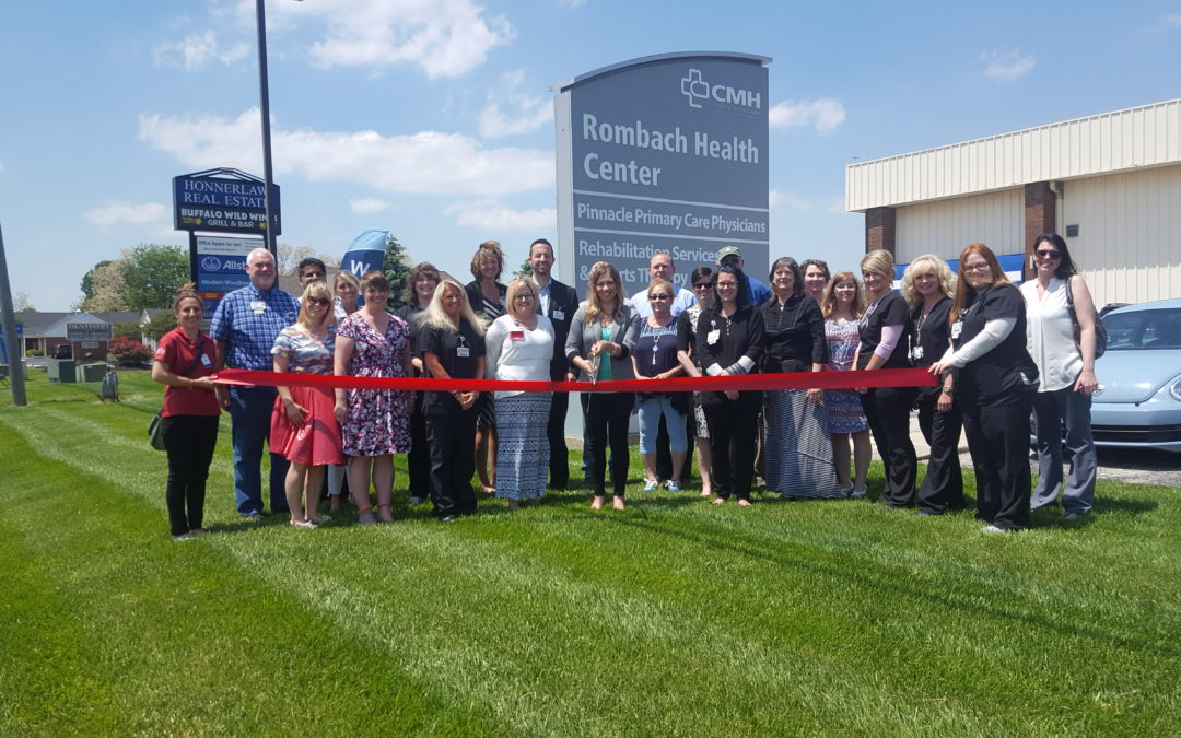 Ribbon Cutting for Pinnacle Primary Care!