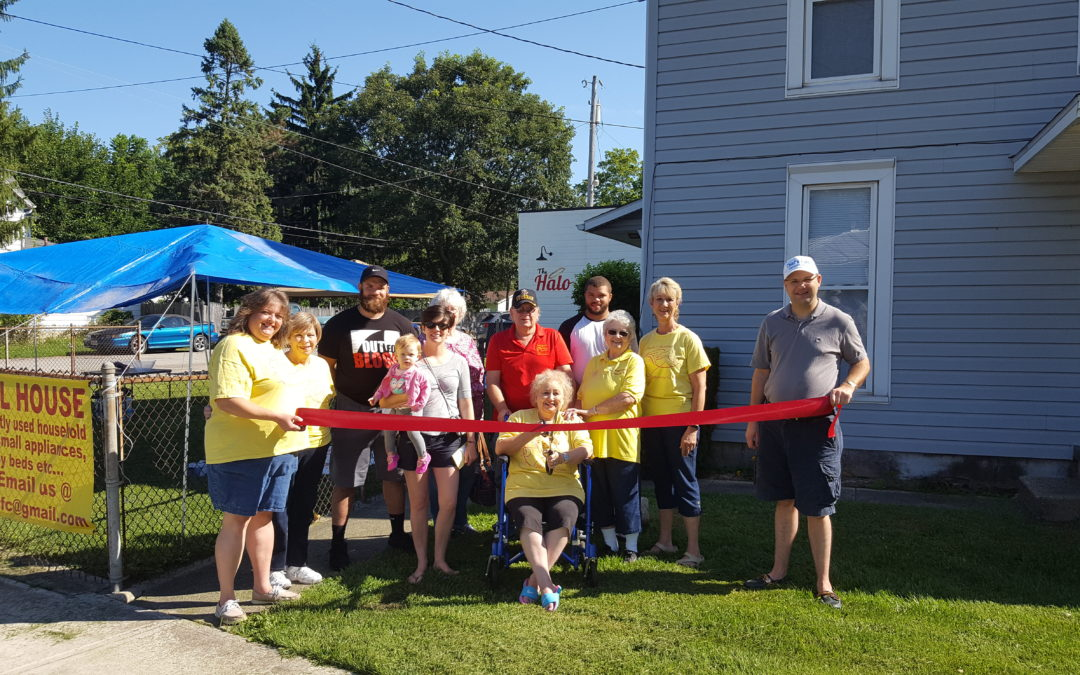 Angel House Ribbon Cutting and Fun Day Fundraiser