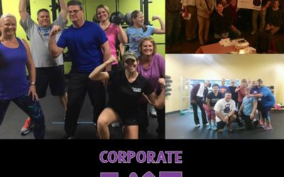Corporate Fitness Challenge through Anytime Fitness