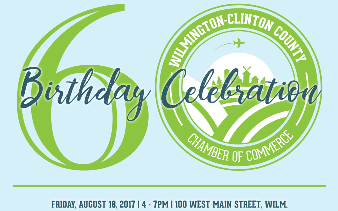 Celebrate the Chamber's 60th Birthday
