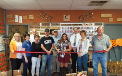 Ribbon Cutting and Open House celebrating Crates, Etc!