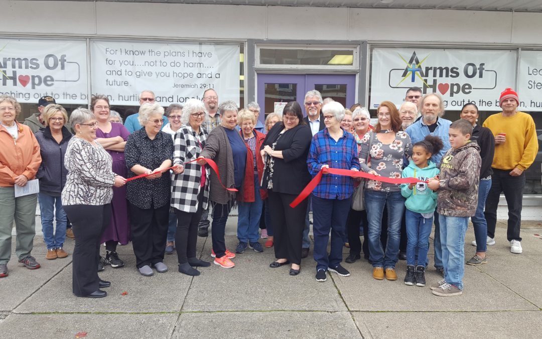 Ribbon Cutting for Arms of Hope of Sabina