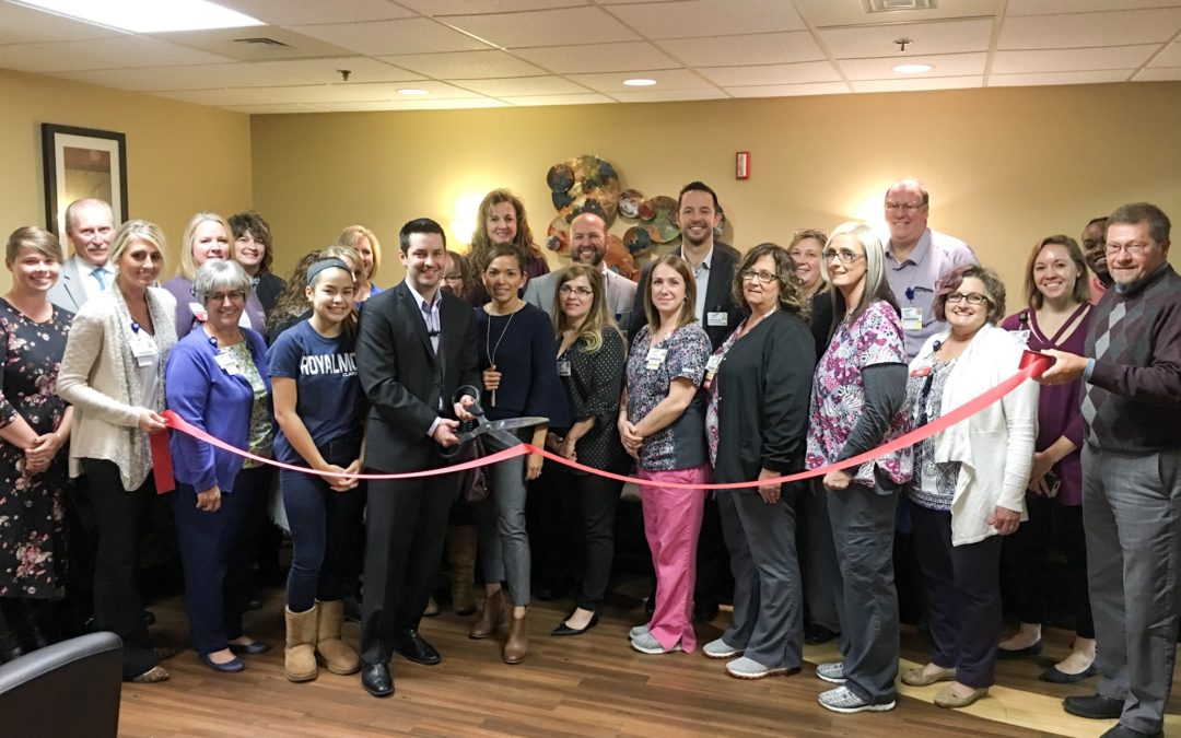 Ribbon Cutting for General Surgeon Dr. Nathan Roberts
