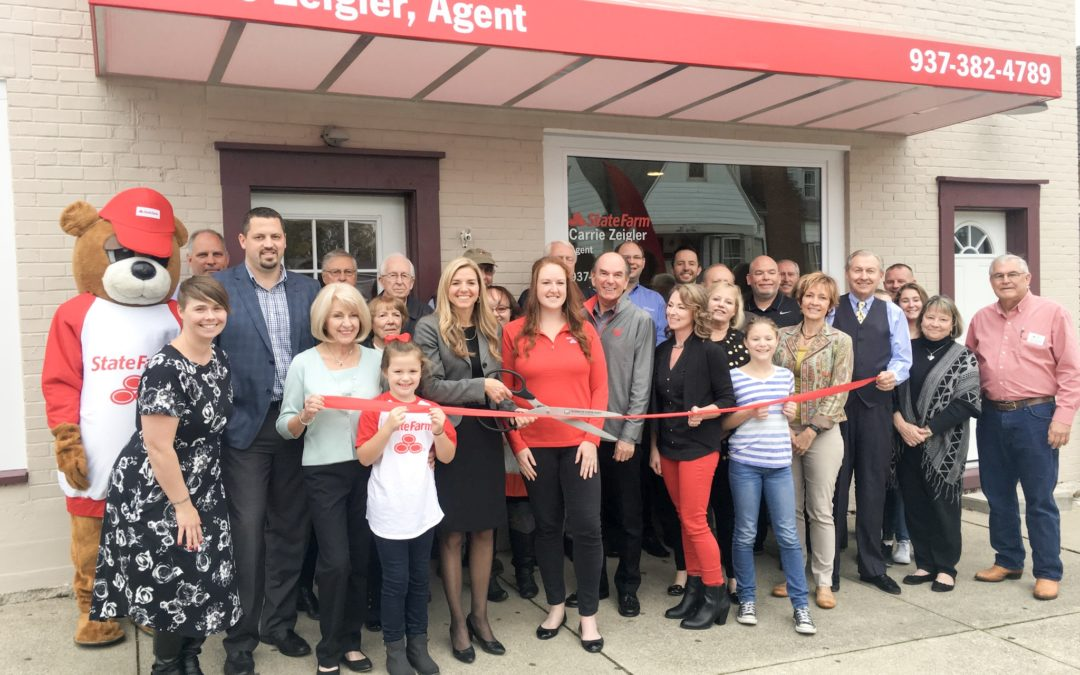 Open House welcoming Carrie Zeigler State Farm Insurance