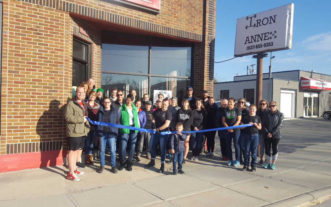 Ribbon Cutting for Get Fit's Iron Annex