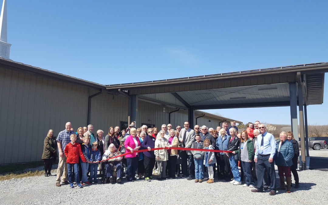 Ribbon Cutting for Sabina Church of Christ