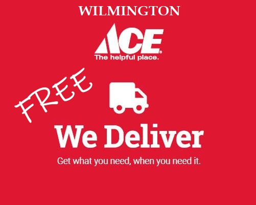 Wilmington Ace Hardware: Free Delivery through 3/31