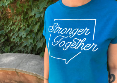 Stronger Together Shirt Campaign